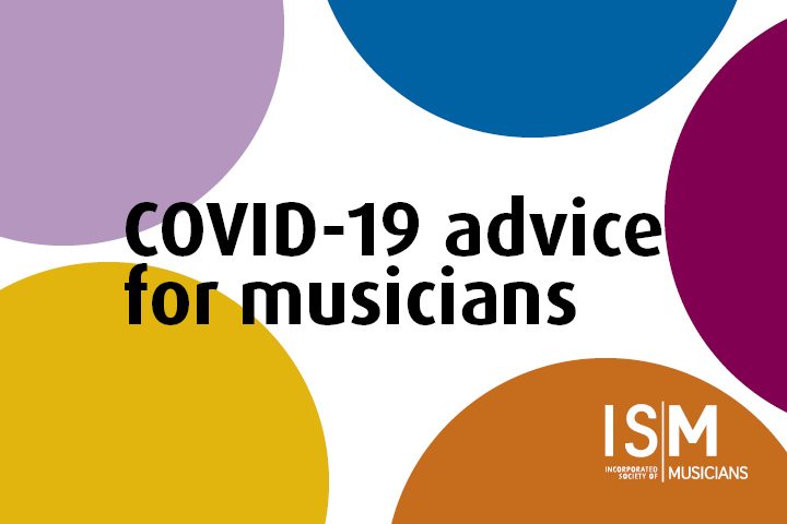 COVID-19 advice for musicians