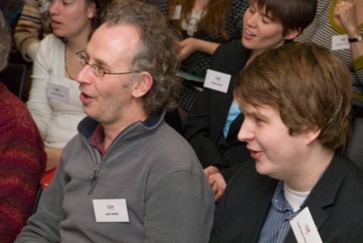 Members at an ISM seminar