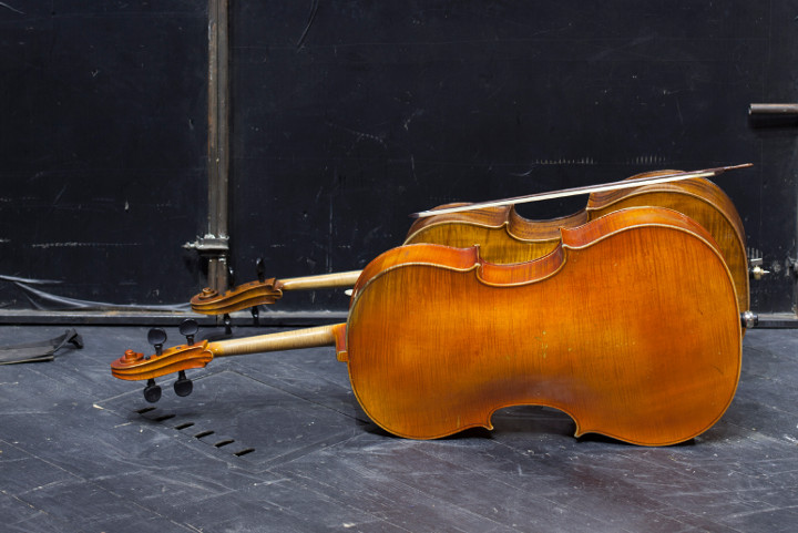 resting cellos