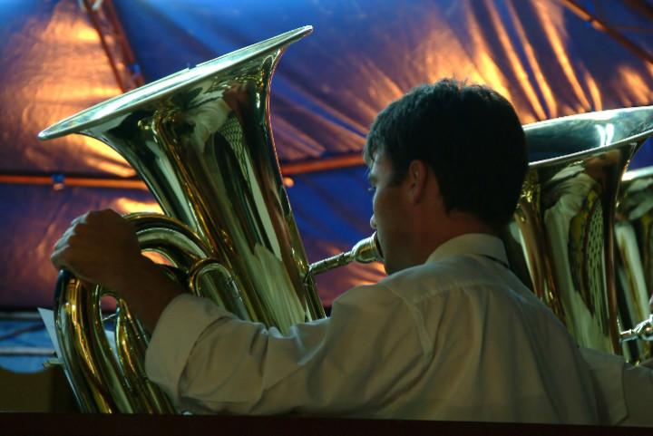 tuba section