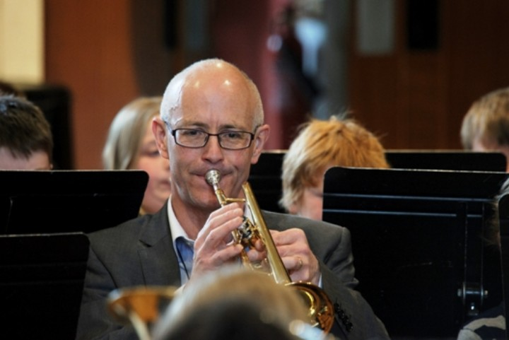 Jeremy Dibb at brass day