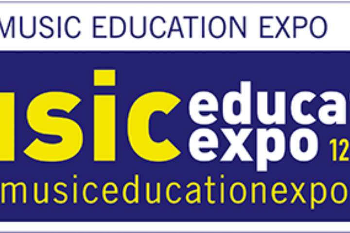 Music Education Expo banner