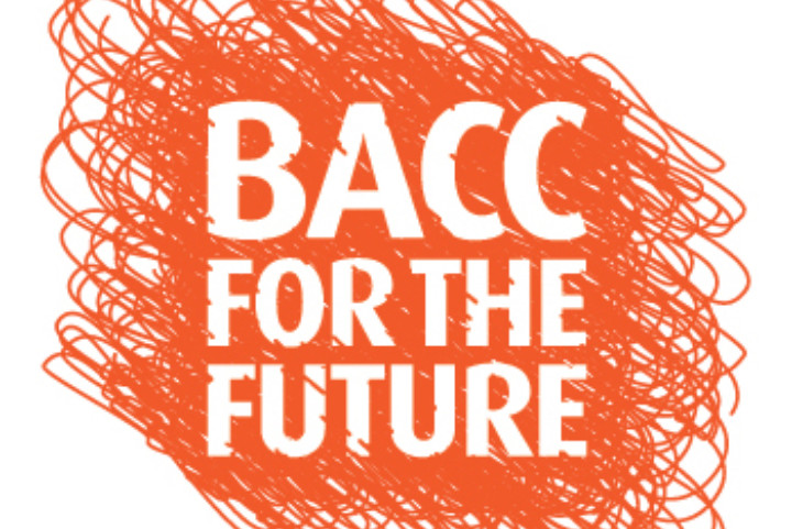 BACC For The Future Orange Logo