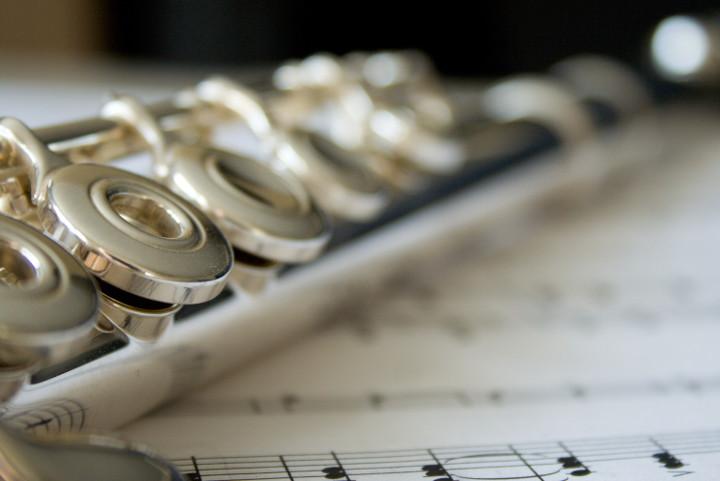 flute close-up