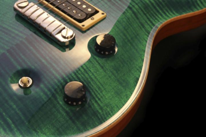 Green Electric Guitar
