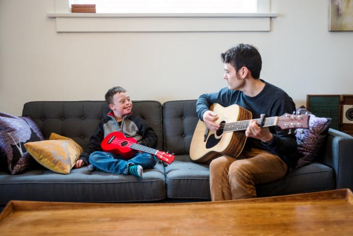 Guitar lesson special needs