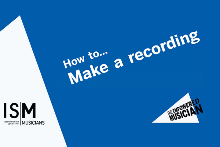 How to make a recording cover