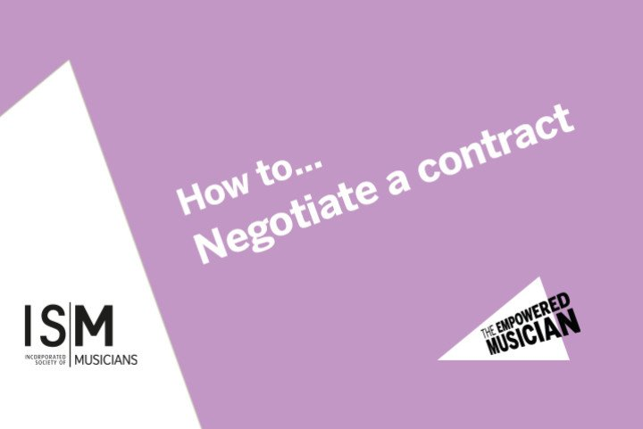 How to... negotiate a contract