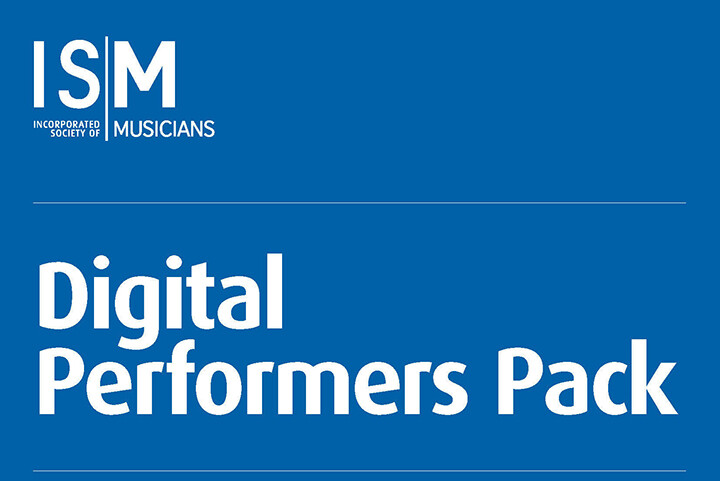 The words 'Digital Performance Pack' on a blue background