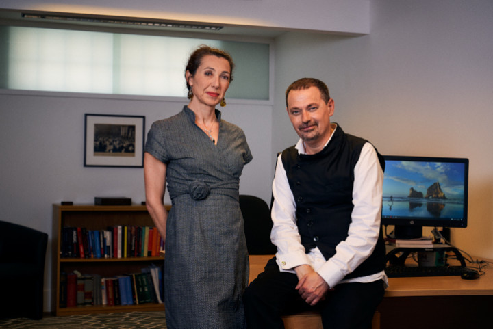 Jeremy Dunn and Mariachiara Valsecchi