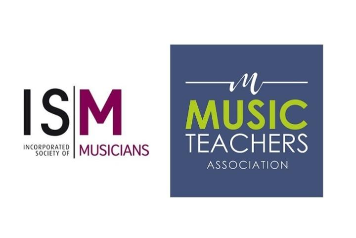 ISM and Music Teachers' Association logos