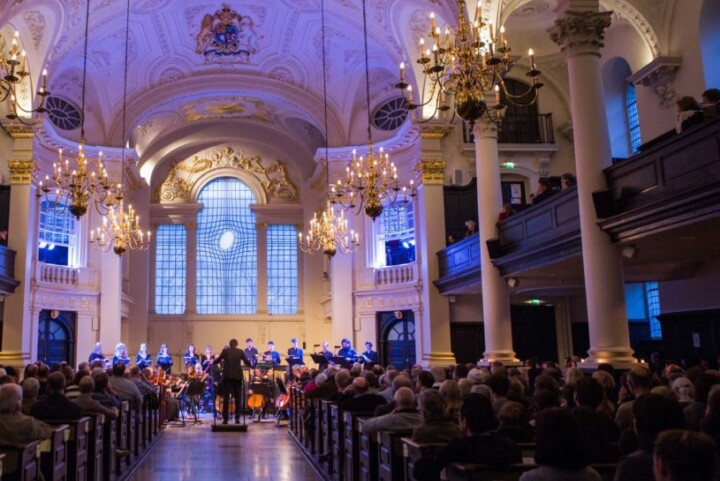 performance in St Martin in the Fields