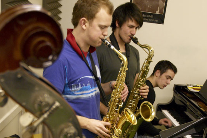 young jazz musicians