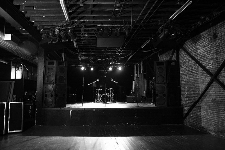 empty venue
