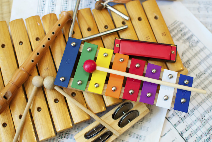Classroom music instruments