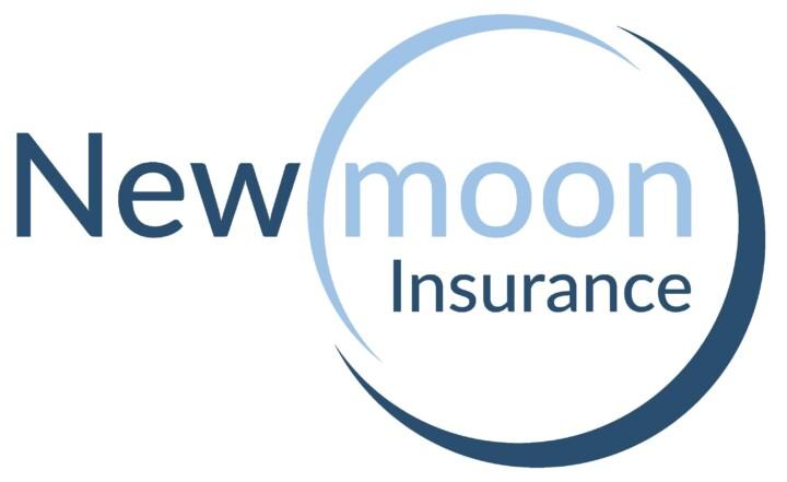 New moon insurance logo
