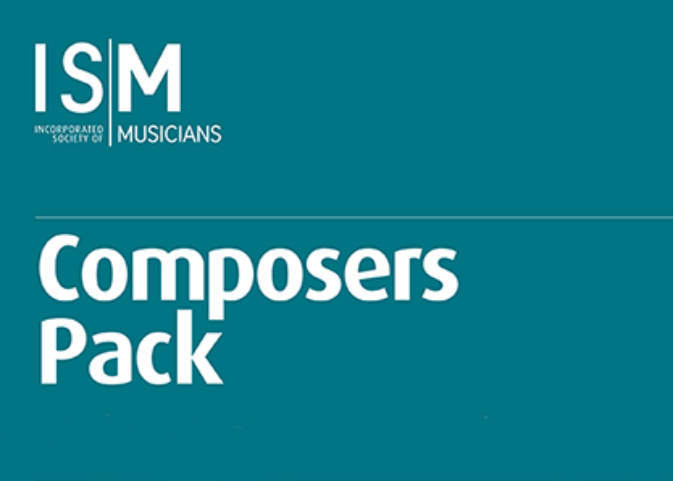Front cover of the ISM Composers Pack