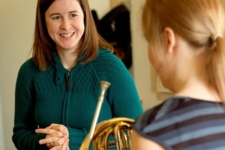 Horn lesson