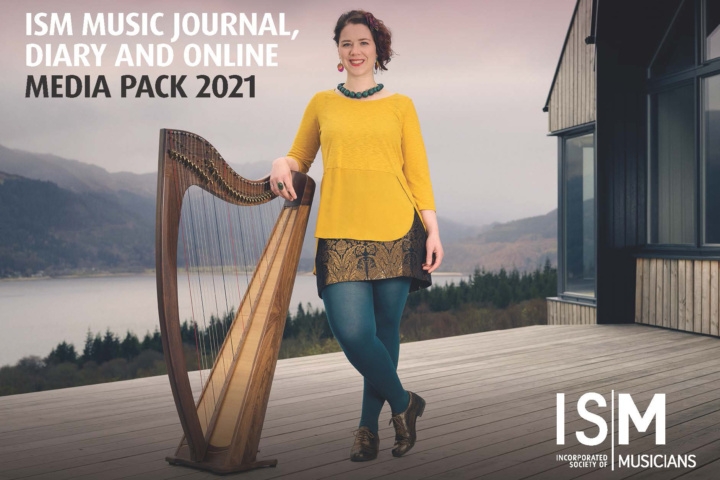 ISM Music Journal, Diary and online media pack 2021