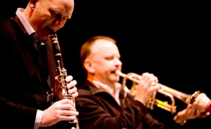 Jazz musicians performing