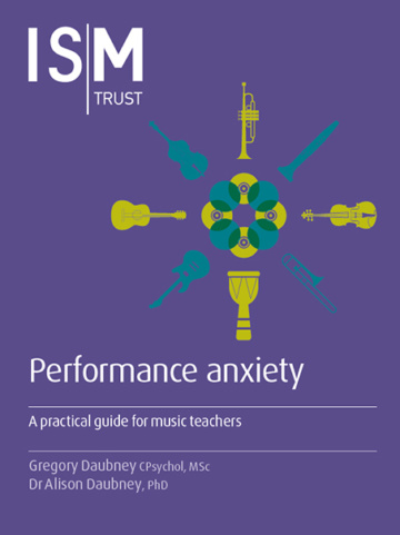 Cover of Performance anxiety guide