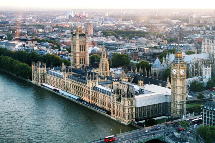 Westminster Aerial Shot