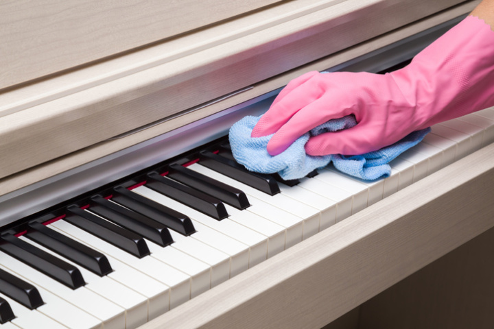 piano cleaning